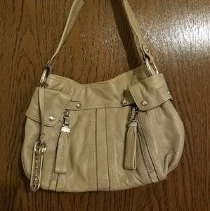 Bmakowsky genuine leather purse grey